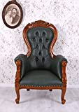 Grandfather chair englischer Ledersessel Armlehnstuhl Clubsessel Palazzo Exklusiv