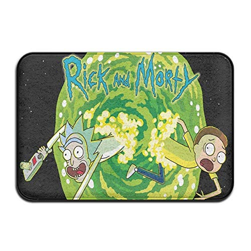 Rick and Morty Non-Slip Entrance Indoor/Outdoor/Front Door/Bathroom Ma