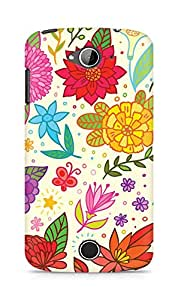 Amez designer printed 3d premium high quality back case cover for Acer Liquid Z530 (Texture Bright Colorful Pattern)