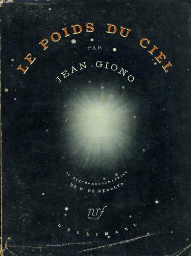 Le Poids Du Ciel [Pdf/ePub] eBook