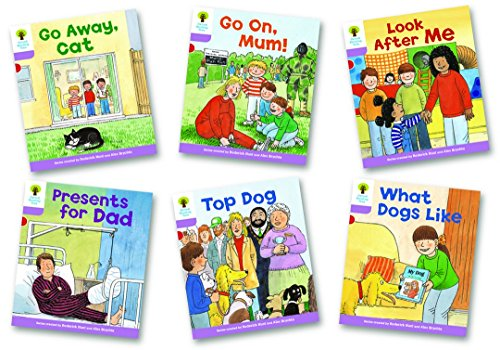 Oxford Reading Tree Biff, Chip and Kipper Level 1+: More First Sentences A: Mixed Pack of 6