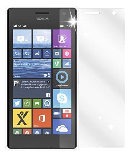 dipos I 6X Schutzfolie klar passend für Nokia Lumia 730/735 Folie Bildschirmschutzfolie
