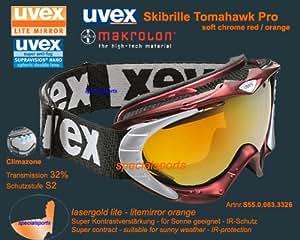 Uvex Tomahawk Pro black shiny, 1