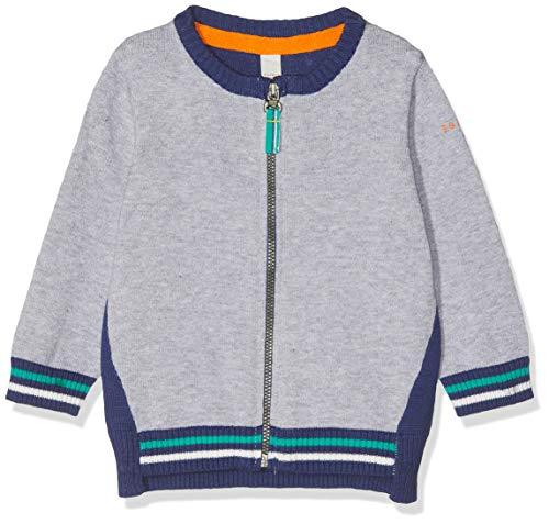 ESPRIT KIDS Baby-Jungen RP1801207 Sweater Card Pullover, Grau (Heather Silver 223), (Herstellergröße: 74)