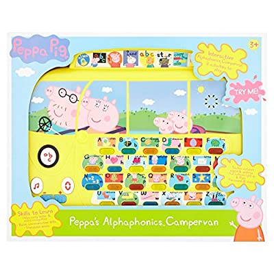 Peppa Pig PP01 Alphaphonics Campervan Electronic Toy by Trends Uk