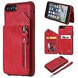 BONROY Coque pour iPhone 8 Plus/iPhone 7 Plus, Bumper Housse Etui de Protection...