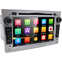 hizpo 7pulgadas Car Audio Estéreo En Dash Doble Din para Opel Vauxhall CORSA Vectra Astra apoyo reproductor de DVD de navegación GPS Bluetooth Radio de coche USB SD + Mapa Tarjeta Gratis Cámara