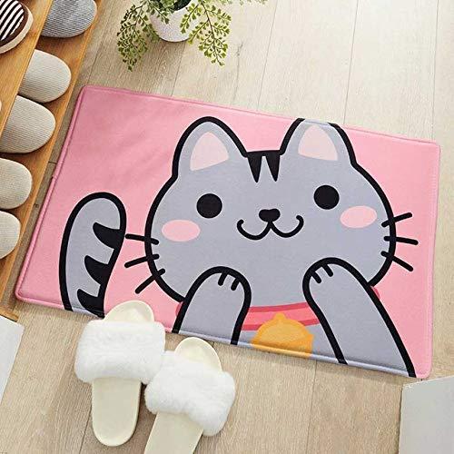 FeiXing158 Kaninchen-Entwurfs-Karikatur-Küchen-Matten-Rutschfester Langer Schlafzimmer-Boden-Teppich-Flur-Portal-Bereichs-Teppich