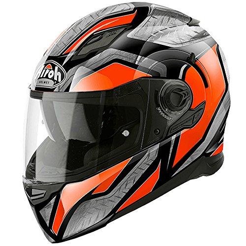 Airoh movement-s Full Face DVS ACU Motorrad Helm–Stahl glänzend orange