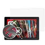 atFolix Schutzfolie passend für Trekstor SurfTab Wintron 10.1 Volks-Tablet Folie, entspiegelnde & Flexible FX Bildschirmschutzfolie (2X)