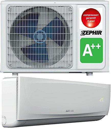 Zephir Climatizzatore INVERTER Motore e Split ZTE12000 12000BTU Classe A++