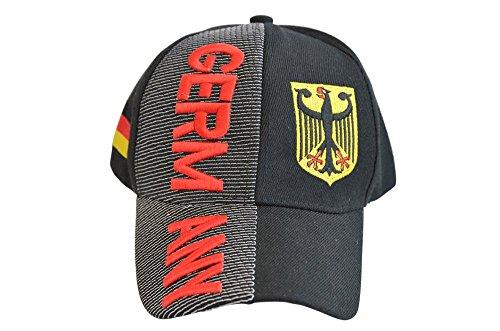 DEUTSCHLAND FAN CAP Baseball Kappe Mütze basecap Nationalmannschaft WM Germany