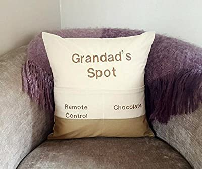 Grandad's Chair Pocket Cushion