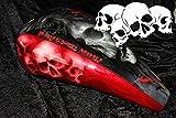 Airbrush Schablone für Schädel - Totenköpfe - Skull's Kopf Schädelhaufen