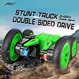 Ferngesteuerte Spielzeug Auto Stunt Rennauto mit LED Lichter  wiederaufladbar RC Buggy Auto 360° aufrechte Rotation Rennfahrzeug   für Kinder Jungen Mädchen