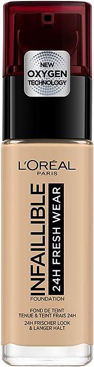 L'oreal Paris Infallible 24hr Freshwear Liquid Foundation 120 Vanilla 30ml