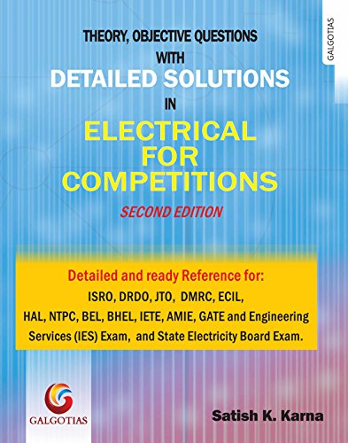 Detailed Solutions in Electrical for Competitions (Second Edition 2017)