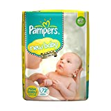 Pampers Active Baby New Born Diapers (72 Pieces)
