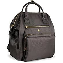 Idaho Jones–Designer Milchpumpe Rucksack Tasche mit Große verdeckte Pumpe und Kühler Pocket