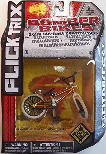 Flick Trix Die-cast Bomber Bikes - Fit Bike Co. (Orange, Black, White)
