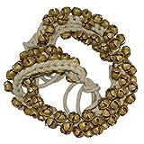 #9: Ghungroo India (100 + 100) White Cotton String (1.6 cms)