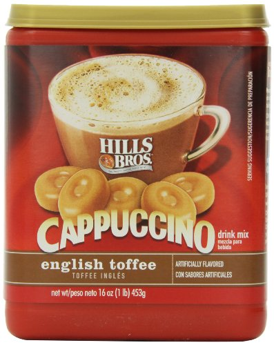 hills-bros-cappuccino-english-toffee-drink-mix-453g-tub-american