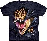 Photo de Tee shirt enfant Dino - T-Rex Tearing par The Mountain