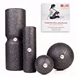 Liebscher und Bracht Set: Faszienrolle und Massageball (je 2 Stück) zum Faszien-Training und Faszien-Yoga + DVD