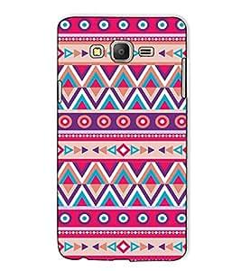 Fuson Designer Back Case Cover for Samsung Galaxy On5 Pro (2015) :: Samsung Galaxy On 5 Pro (2015) (Pink Designer Pattern theme)