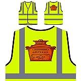 Briefkasten Briefe Neuheit Lustig Personalisierte High Visibility Gelbe Sicherheitsjacke Weste a783v