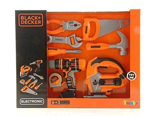 Preisvergleich Produktbild Ingeniere Black + Decker Mega Werkzeug Spiel Idee Geschenk AG17