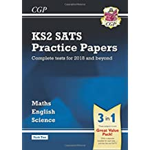 New KS2 Complete SATS Practice Papers Pack: Science, Maths & English (for the 2018 tests) - Pack 2 (CGP KS2 SATs Practice Papers)