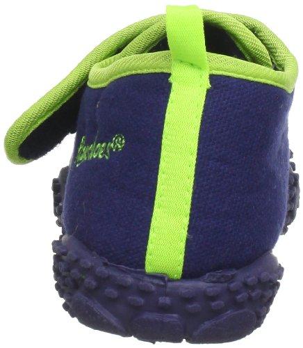 Playshoes Drache 201751, Chaussures basses mixte enfant bleu (original 900)