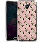 Samsung Galaxy A3 (2016) Housse Étui Protection Coque Pinup Rétro Rose