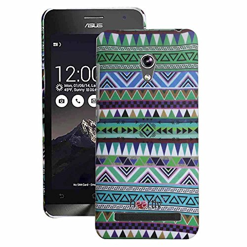 Heartly Aztec Tribal Art Printed Design Retro Color Armor Hard Bumper Back Case Cover For Asus Zenfone 5 Lite A502CG - Nature Green  available at amazon for Rs.269