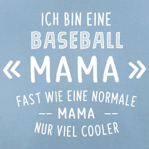 Ich bin eine Baseball Mama - Herren T-Shirt - 13 Farben Himmelblau