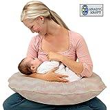 Kradyl Kroft 5in1 Baby Feeding Pillow Pink With Detachable Cover Nova - (KK5in1-207)
