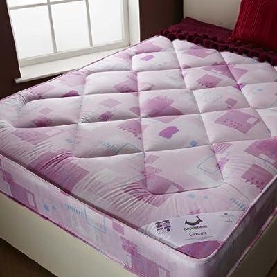 Happy Beds Gema Children Pink Girls Mattress Kids Bedroom Furniture Home - cheap UK light shop.