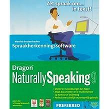 Nuance Dragon NaturallySpeaking Preferred 9 - Software de reconocimiento de voz (1000 MB, 512 MB, Intel Pentium 1 GHz)