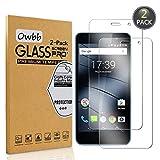 Owbb [2 Stück] Gehärtetes Glas Bildschirm schutzfolie Für Gigaset GS160 Smartphone Schutz 99prozent High Transparent Explosionsgeschützter Film