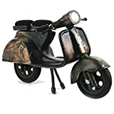 Recycling Fairtrade Miniatur Nostalgie Modell Motorrad Vespa Recycling Handarbeit - Fair Trade