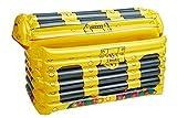 SMIFFYS 52024 - Portabevande gonfiabile, unisex, per adulti, colore: oro
