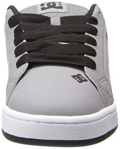 DC Shoes Court Graffik, Chaussures de skate homme Bianco (Grey/Grey/Black)