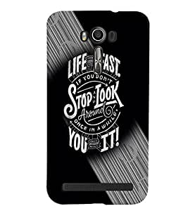 Asus Zenfone 2 Laser MULTICOLOR PRINTED BACK COVER FROM GADGET LOOKS