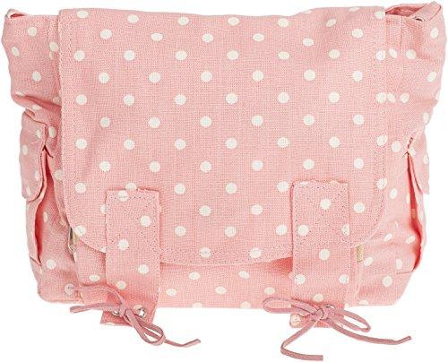 Cute POLKA DOT Punkte MESSENGER BAG Tasche Rockabilly (Pinup Messenger Bag)