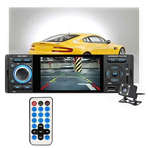 4,1 Pouces TFT 1080 P écran Tactile Radio au Tableau de Bord, Bluetooth, MP3 / MP4 / MP5 / USB/SD AM/FM Prise en Charge stéréo de la Voiture USB Carte SD Entrée AUX Télécommande sans Fil