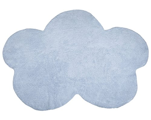 Happy Decor Kids HDK-206 - Alfombra lavable, color azul