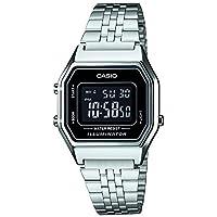 Casio Collection LA680WEA-1BEF Reloj de pulsera para Mujer, Negro