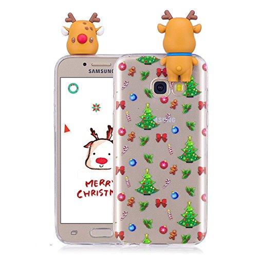 galaxy a3 2017 akku wechseln CaseLover Galaxy A3 2017 Hülle, TPU Silikon Handy Case Slim Fit Handyhülle Tasche Flexibel Weich Hülle Schutz Cove für Samsung Galaxy A3 2017 (4,7
