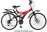 Atlas Crest Front Disc And Dual Suspension 18 Speed Bicycle (26T)